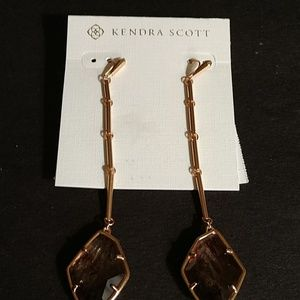 "KENDRA SCOTT ""CHARMAIN"" CHANDALIER EARRINGS. $80"